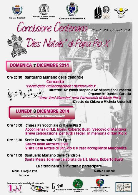 Notizie 2014 - FONDAZIONE GIUSEPPE SARTO